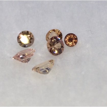 1.10 Ct Padparadscha Sapphires Lot