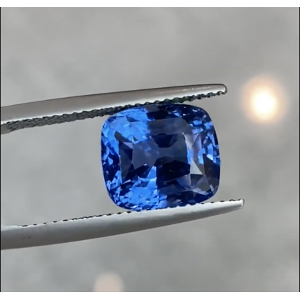 Loupe Clean Cushion Mix 8.50 Ct Ceylon Blue Sapphire