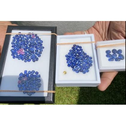 200 Ct + Royal Blue Sapphire Lots
