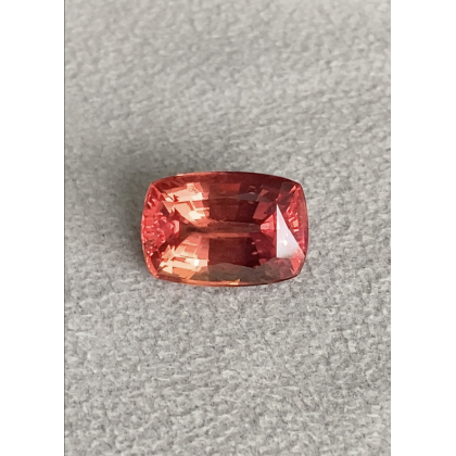 One Of A Kind 22 Ct Fiery Orange/Intense Sunset Padparadscha Sapphire