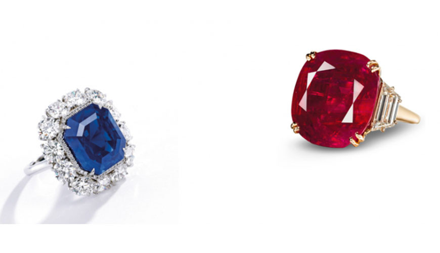 Ruby & Sapphire Under the Hammer