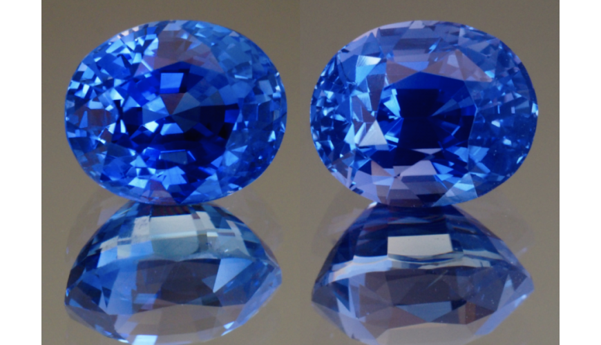 The Dazzling Blue Sapphires From Sri Lanka
