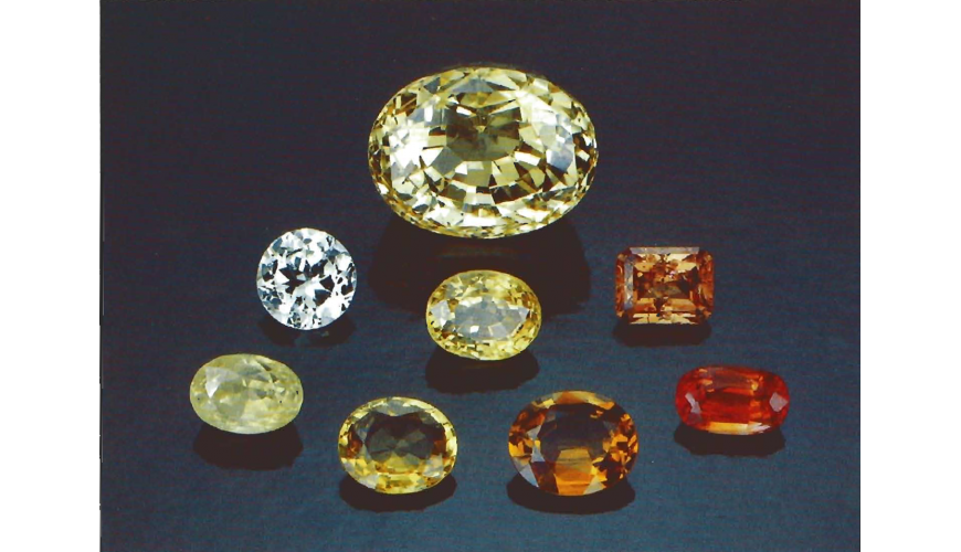 THE SEVEN TYPES OF YELLOW SAPPHIRES